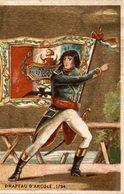 CHROMO LA KABILINE  VERITABLE TEINTURE DES MENAGES  DRAPEAU D'ARCOLE  1794 - Trade Cards