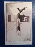 CP SATIRIQUE GUERRE 39-45 Illustré Par LALLY - Privilège Des Oiseaux - War 1939-45