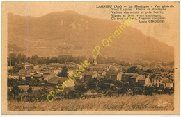 01.  LAGNIEU . La Montagne . Vue Générale . - Francia