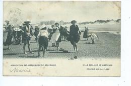 Westende Villa Scolaire De Westende - Colonie Sur La Plage - Association Des Marçunvins De Bruxelles - Westende