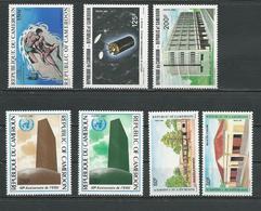CAMEROUN  Scott 772, 776-777, 778-779, 790-791  Yvert 751, 755-756, 757-758, 766-767 (7) ** Cote 13  $ 1985 - Cameroun (1960-...)