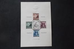 CECOSLOVACCHIA TCHECOSLOVAQUIE ČESKOSLOVENSKO BOHEME ET MORAVIE ALLEMAGNE 1941 FOIRE DE PRAGUE - Occupation 1938-45