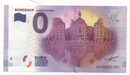 Billet Touristique De Bordeaux - Fictifs & Spécimens