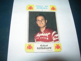 Carte Jeu Des 7 Familles - Cyclisme - Miroir-Sprint   GILBERT SCODELLER - Ciclismo