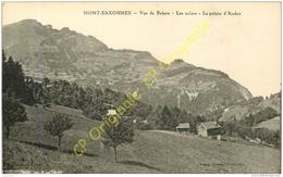 74.  MONT SAXONNEX .  Vue De Brison . Les Culées . La Pointe D'ANdey . - France