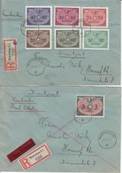 DIENSTMARKEN Mi N° 14 / L. Service- EXPRESS- RECOMMANDE De Sc Warschau / 10.2.41-> Hornef ? . Joint N° 3+5/8+11 . Recom - 1939-44: World War Two