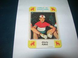 Carte Jeu Des 7 Familles - Cyclisme - Miroir-Sprint  CHARLY GAUL - Ciclismo