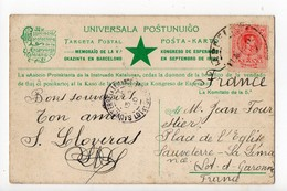ESPERANTO 1909 - Salono De Kontraktado - Congrès - Kongreso De Esperanto En Septembro De 1909 - Barcelono - Esperanto