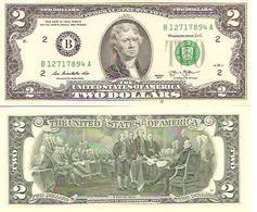 USA  2  Dollars  2013  UNC - Billetes De Estados Unidos (1928-1953)