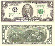 USA  2  Dollars  2013  UNC - Biglietti Degli Stati Uniti (1928-1953)