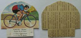 """1 Image-découpage LA VACHE SERIEUSE Série Cyclistes : N° 659 """"Minique"""" FORLINI - Autres"""