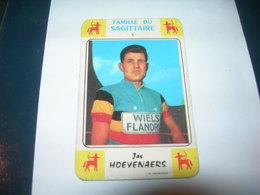 Carte Jeu Des 7 Familles - Cyclisme - Miroir-Sprint  JAS HOEVENAERS - Ciclismo