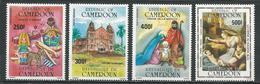 CAMEROUN  Scott C329-C332  Yvert PA346-PA349 (4) ** Cote 13  $ 1985 - Cameroun (1960-...)