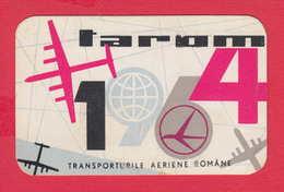 K1844 / 1964 - TAROM ROMANIAN AIR TRANSPORT Calendar Calendrier Kalender Romania Rumanien Roumanie Roemenie - Calendriers