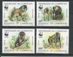 CAMEROUN  Scott 843-846  Yvert 822-825 (4) ** Cote 18  $ 1988 - Cameroun (1960-...)