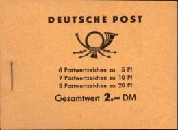 Germany DDR Booklet**  MNH - Markenheftchen