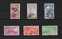 1939 - 70 Anniv. Des Chemis Des Fer  Michel No 609/614 Et Yv 581/586 - Usado