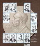 Belgium BL 244**  Les Prix Nobel Belges Année 2016   2 - Blocs 1962-....