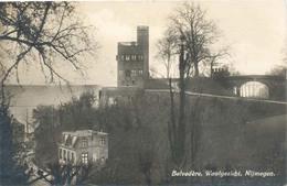 Nijmegen, Belvedere, Waalgezicht  (type Fotokaart) - Nijmegen