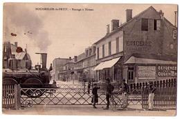 3011 - Mourmelon Le Petit ( 51 ) - Passage à Niveau - Libr. Militaire Guérin - - Autres Communes