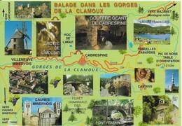 Villeneuve En Minervois - Multi Vues Des Gorges De La Clamoux - Other Municipalities