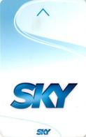 *ITALIA - TESSERA A CHIP: SKY* - Usata - Non Classificati