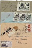 TP Entre N° 11 Et39 + PA 12 Sur 3 Devant D'enveloppe Dont Une En Recommandé - A.O.F. (1934-1959)