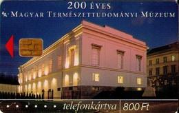 TARJETA TELEFONICA DE HUNGRIA. MUSEO DE HISTORIA NATURAL. HU-P-2002-06. (170) - Hungría