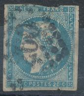 N°44 BORDEAUX EN L'ETAT - 1870 Bordeaux Printing