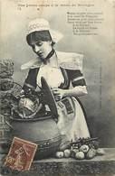 - Dpts Div.-ref-AD802- Finistere - Bretagne - Une Bonne Soupe A La Mode Bretonne - Chou - Recettes - Edit. Joubier - N°1 - France