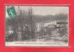 92-CPA SAINT CLOUD - CRUE DE LA SEINE - INONDATIONS DE JANVIER 1910 - Saint Cloud