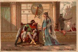 CHROMO  CHILDERIC 1er 4e ROI DE FRANCE  REGNE DE 458 - 481 - Otros