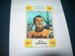 Carte Jeu Des 7 Familles - Cyclisme - Miroir-Sprint   BRIAN ROBINSON - Ciclismo