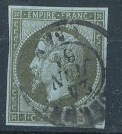 N°11 NUANCE ET OBLITERATION - 1853-1860 Napoléon III