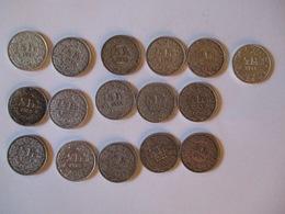 Suisse: Lot De 1/2 Francs (silver) 16 Pieces 1920 - 1945 - Switzerland