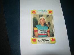 Carte Jeu Des 7 Familles - Cyclisme - Miroir-Sprint  JOSHEP  PLANCKAERT - Ciclismo