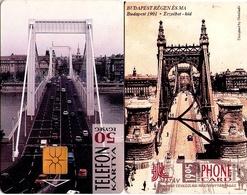 TARJETA TELEFONICA DE HUNGRIA. PUENTE DE ELIZABETH. HU-P-1995-05Aa. (128) - Hungría