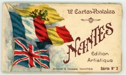NANTES CARNET DE 12 CARTES POSTALES SERIE N° 3 - Nantes