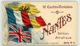 NANTES CARNET DE 12 CARTES POSTALES SERIE N°4 - Nantes