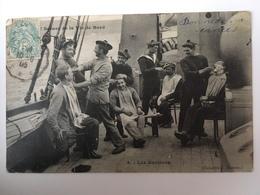 Scènes De La Vie à Bord - Les Barbiers - Boten