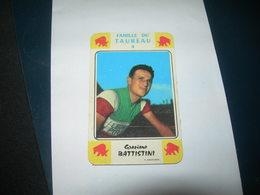 Carte Jeu Des 7 Familles - Cyclisme - Miroir-Sprint  GRAZIANO  BATTISTINI - Ciclismo