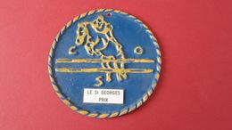 EQUITATION PLAQUE  2 EME PRIX  LE SAINT GEORGES  07/02 /1999 ****   A  SAISIR ***** - Equitation