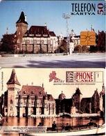 TARJETA TELEFONICA DE HUNGRIA. Castillo De Vajdahunyad. HU-P-1995-04. (130) - Hungría