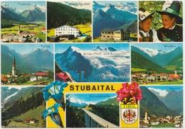 STUBAITAL, Multi View, Austria, 1981 Used Postcard [21966] - Austria