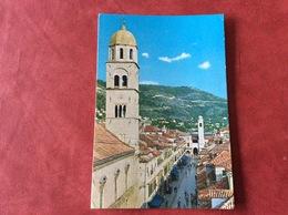 Joegoslavië Jugoslavija Dubrovnik. Stradun - Yougoslavie