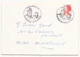 France Enveloppe Du 15 Septembre 1983 De La Rochelle Pour Alfortville - France