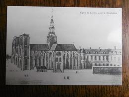 D 80 - Corbie - 5e Exposition Philathélique Et Cartophile - 27 Mars 1989 - église De Corbie Avant La Révolution - Corbie