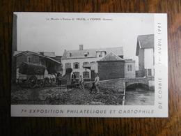 D 80 - Corbie - 7e Exposition Philathélique Et Cartophile - 1 Avril 1991 - Le Moulin à Farines G. Ibled - Corbie