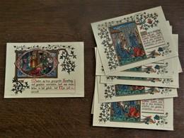 ACHT STUKS Santjes  1956  CHRIRO Groep BOOM - Santons