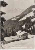 Berghaus Enzian 1215 M, Dunserberg Mit Blick Auf Den Santis, Austria, Used Real Photo Postcard [21968] - Austria